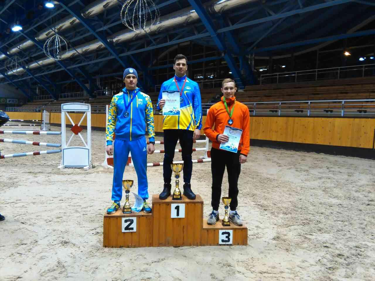 В мужской эстафете чемпионата Европы по современному пятиборью белорусы остались без медалей